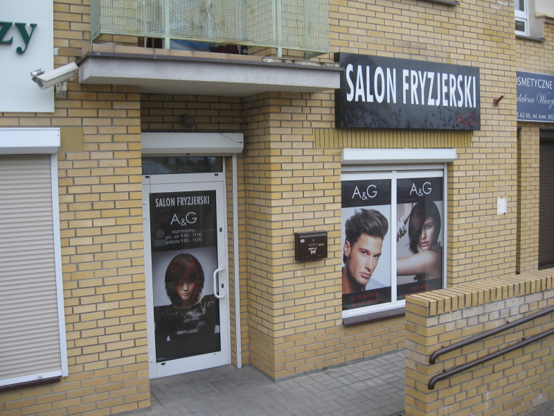 Salon Fryzjerski Ag Białystok Dobry Fryzjer